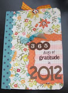 Make gratitude journals as a Young Women activity. Buy the composition books while they are on sale with the back to school supplies.
