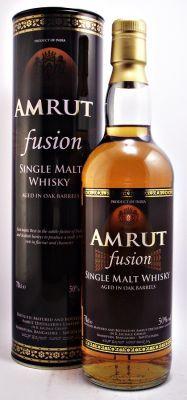 Amrut Fusion Indian Single Malt  Whisky 50% 70cl