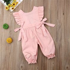 Toddler Girl Outfits, Kids Outfits, Kids Dress Patterns, Body Suit Outfits, Ruffle Romper, Jumpsuit Outfit, Tumblr Outfits, Baby Girl Newborn, Baby Bodysuit