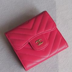Chanel Classic Small Pocket Flap Wallet Style code: Size: x x inches Unique Selling Proposition, Chanel Wallet, Birkin, Continental Wallet, Hermes, Wallets, Pocket, Luxury, Bag