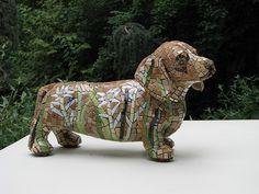 dog by thenatureofmosaica.com
