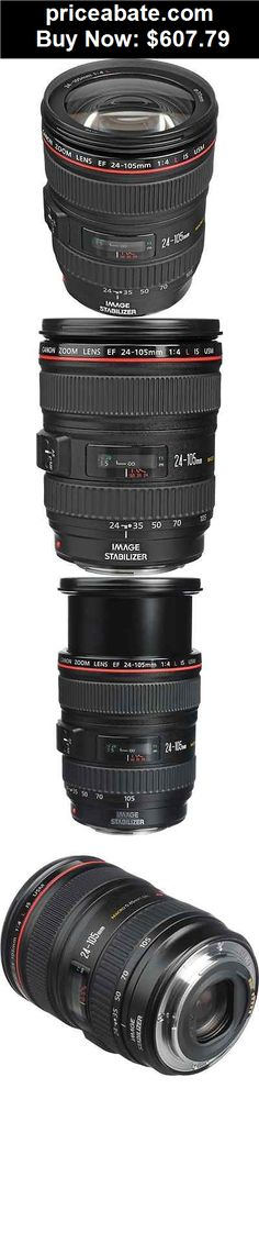 Camera-And-Photo: Canon EF 24-105mm f/4L IS USM Lens 0344B002 - BUY IT NOW ONLY $607.79
