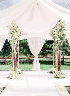 A Romantic Summer Wedding in Vail, Colorado   Brides