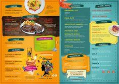 Fish And Chips, Taco Bar, Food Menu, Coffee Shop, Tacos, Editorial, Photoshop, Templates, Logo