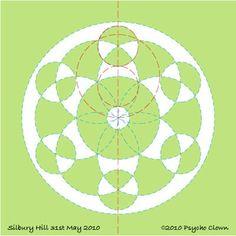Silbury Hill 31.5.2010 diagram 2