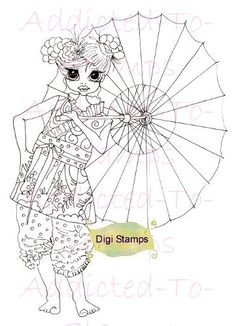 Digital Digi Stamps Louts Blossom By Sherri by Digidoodlestampart, $3.99