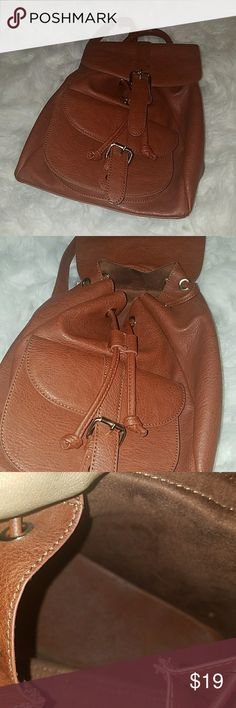 Back pack Brown cute back pack (nicely used) unknown Bags