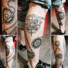 Bike Chain Bike Tattoo Idea
