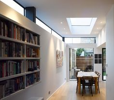 Love the clerestory widows on this extension