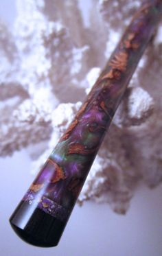 The Princess Eve Hair Stick African by TimberstoneTurnings on Etsy