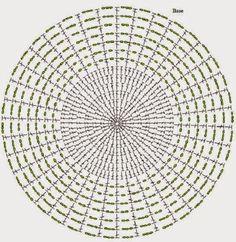 tapete de croche grande para sala quadrado - Pesquisa Google