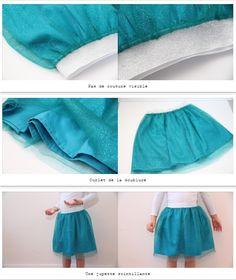 Voici une jupe qui brille à coudre pour les fêtes de fin d'année ! Il n'y a plus de doute : vous avez trouvé la jupe à porter pour éblouir vos invités et être la reine de la soirée ! Cliquez sur le lien pour accéder au tuto DIY de couture pour réaliser cette jupe bleue (mais déclinable dans d'autres couleurs) à paillettes !