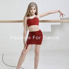 🎁 FREE SHIPPING 🚚 🛒 Order on the website www.ddressing.com - - - #dancewear #tanzsport #danzasportiva #dancelook Kids Notes, Kids Dance Wear, Dance Costumes, Red And Pink, Dresses For Sale, Free Shipping, Website, How To Wear, Black