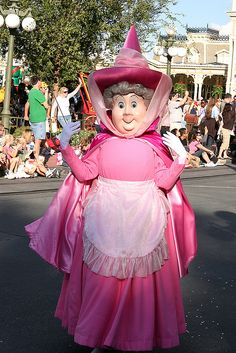 Flora Disney World Magic Kingdom Parade