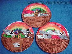 Noah's Ark (paper plate) craft