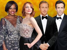 All the Surprising Stars Who Could Win Their First Golden Globe, From Ryan Gosling to Viola Davis