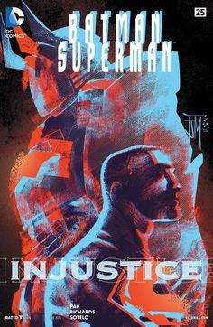 Batman/Superman (2013) #25 #DC #Batman #Superman (Cover Artist: Francis Manapul, Ulises Arreola Palomera & Ardian Syaf) Release Date: 10/14/2015