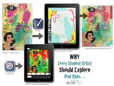 3 Reasons Why Student Artists Should Explore iPad Apps...lots of insight, examples, and ideas... http://www.techchef4u.com/ipad/3-reasons-why-every-student-artist-should-explore-the-use-of-ipad-apps/