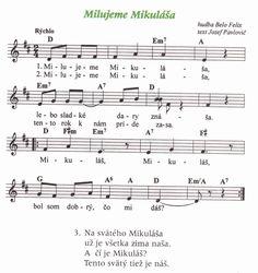 piesne o mikulášovi pre deti - Hľadať Googlom