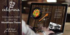 California - Restaurant Hotel Bar WordPress Theme