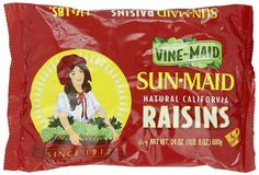 Sun Maid California Raisins Bag, 24 Ounce (Pack of 12) >>> Startling review available here  : Fresh Groceries