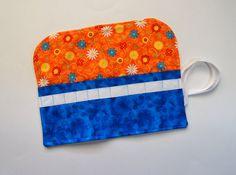 Crochet Hook Organizer  DPN Storage Case Atomic by MonkeyMuffin