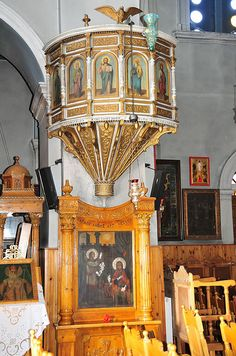 Another Orthodox Church Pulpit