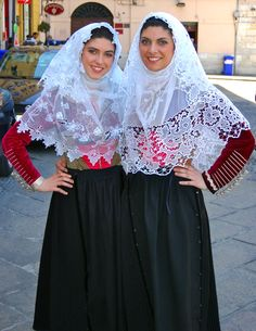 Traditional Costumes of Sardinia