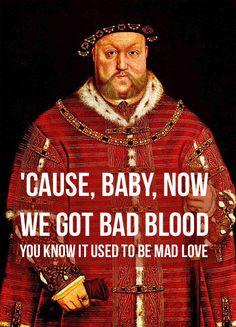 Ideas Art History Humor Renaissance Henry Viii For 2019 Wives Of Henry Viii, King Henry Viii, Tudor History, British History, History Medieval, Ancient History, American History, History Jokes, Funny History