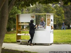 What if my house had a movable coffee kiosk?...