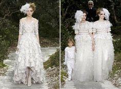 Novias de Alta Costura.  Chanel.  www.webnovias.com