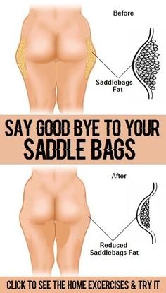 8 Most Effective Exercises for Saddle Bags
