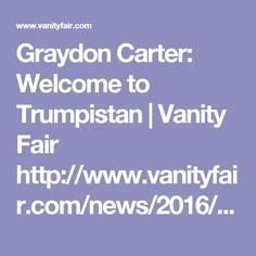 news graydon carter donald trump editors letter