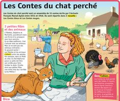 Fiche exposés : Les Contes du chat perché French Teacher, Teaching French, Flags Europe, French Classroom, French History, Teacher Tools, French Language, Book Authors, Kids And Parenting
