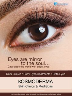 Tired of being told - 'You look tired?' Here's how to get rid of eye bags, puffiness, dark shadows and circles for sure!  Click the link and register yourself for a counseling session with us http://goo.gl/iF8GpU  Also, Why do we get Dark Circle? Read in detail on our blog here http://www.kosmoderma.com/why-do-we-get-under-eye-dark-circles/  #KDAcneApp #SkinTips #KDOffers