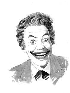 original art by Paradis Batman Artwork, Original Art, Joker, The Originals, Superman, Popular, Ebay, The Joker, Popular Pins