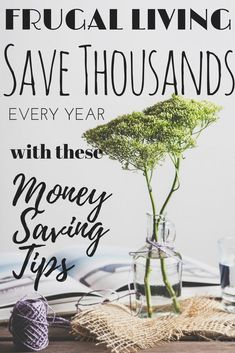 Saving Tips that can really add up .