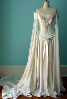 It S Like An Arwen Wedding Gown