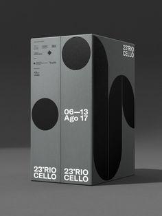 Rio Cello (Proposal) on Behance Book Design, Web Design, Graphic Design, Grid Design, Brand Packaging, Box Packaging, Poster S, Illustration, Packaging Design Inspiration