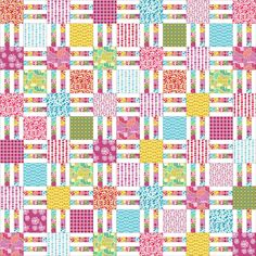 Picket Fence Quilt Pattern in 6 Sizes from Wall to King ~ Layer Cake and Yardage Friendly ~ PDF Pattern ~ Quick and Easy ~ BusyHandsQuilts by BusyHandsQuilts on Etsy https://www.etsy.com/listing/240869438/picket-fence-quilt-pattern-in-6-sizes