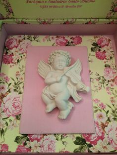 Decoração Bella Fiore batizado para Menina, Rosa e Amarelo.  Christening of a baby girl. Pink and Yellow Decor. Bella Fiore.