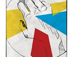 """Check out new work on my @Behance portfolio: """"Geometric hand"""" http://be.net/gallery/48405791/Geometric-hand"""