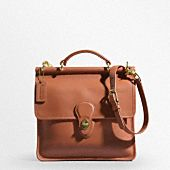 I love the classic Willis bag from Coach.  The shape and tan leather color are perfect