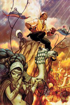 James Jean (I would bet this is a Fables cover) Comic Book Artists, Comic Artist, Comic Books Art, Illustrations, Illustration Art, Comics Gratis, Fables Comic, The Wolf Among Us, Vertigo Comics
