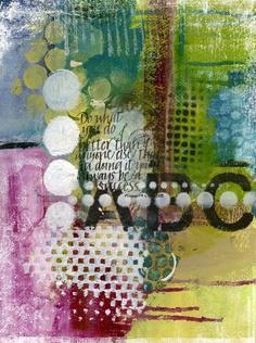 Art du Jour by Martha Lever: July 2010 @Lindy Faulkner Stockton <3