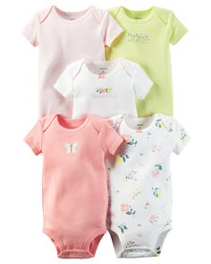 Meet The Original Bodysuit. Crafted to perfection with expandable shoulders, cute embroideries and sweet little prints, all wrapped up in our babysoft cotton rib.