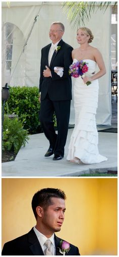 Pink and purple wedding inspiration, 2now1 Photography, via Aphrodite's Wedding Blog