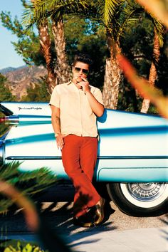 bruno mars. I want this style to make a reappearance in the male wardrobe! haha!