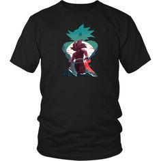 ead42d481274f4 Teen Gohan T-Shirt - Teen Gohan V Cell One Hand Father Son Kamehameha Shirt