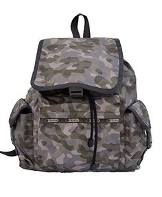 LeSportsac Voyager Backpack Bubble Camo * Learn more by visiting the image link.